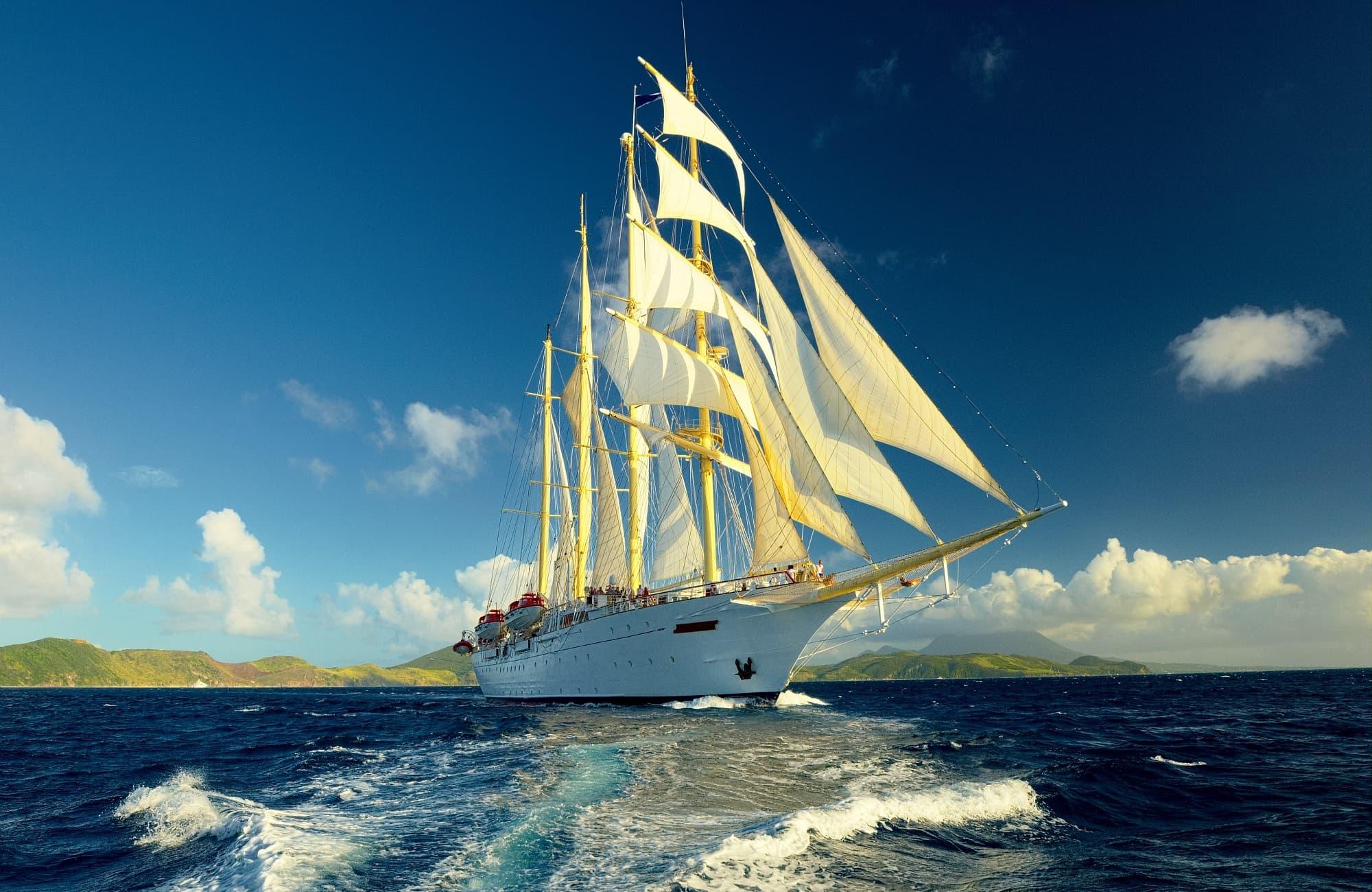 À bord du Star Clipper, direction l'Indonésie !