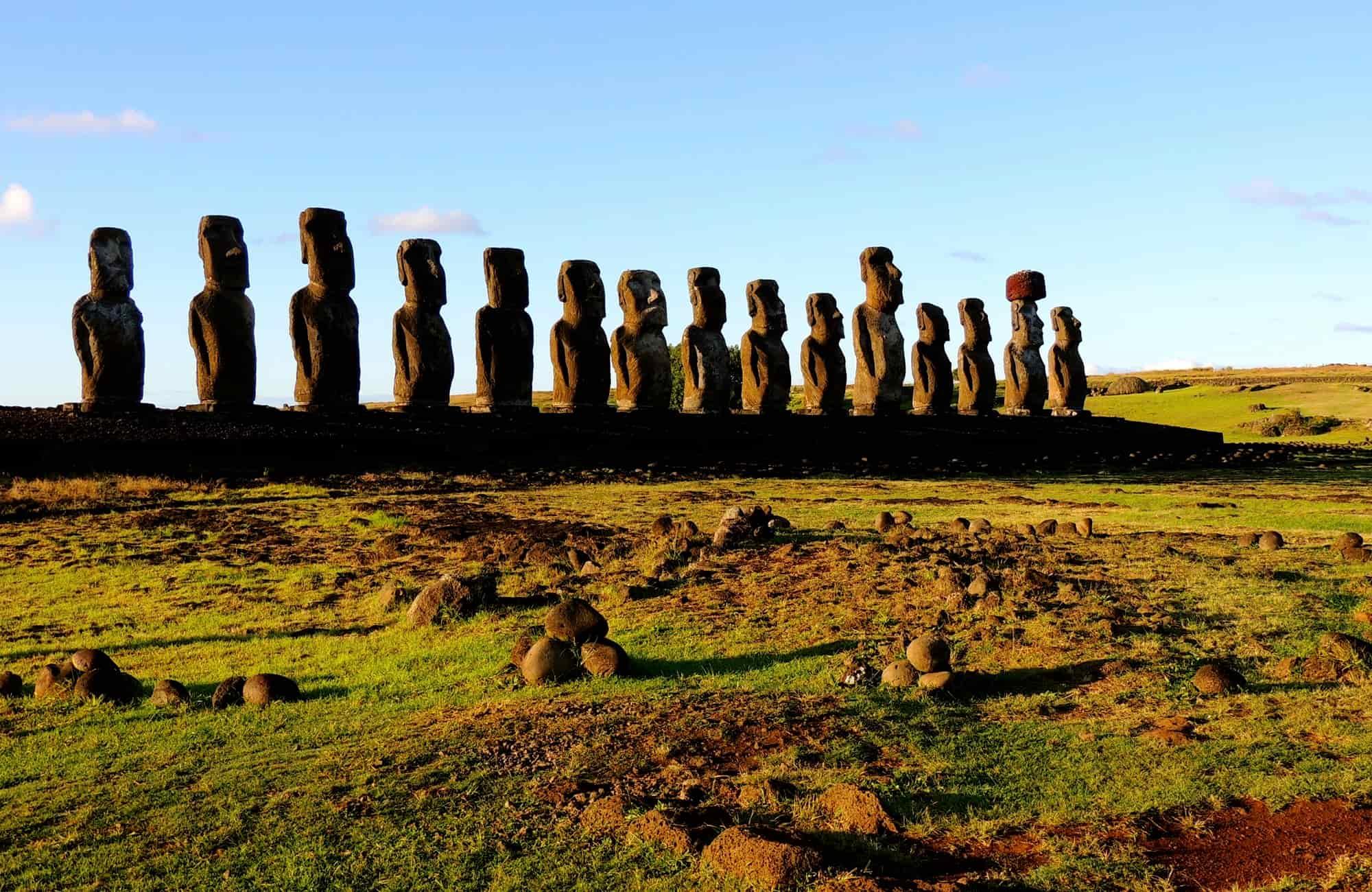 Voyage au Chili - Ahu Tongariki - Amplitudes