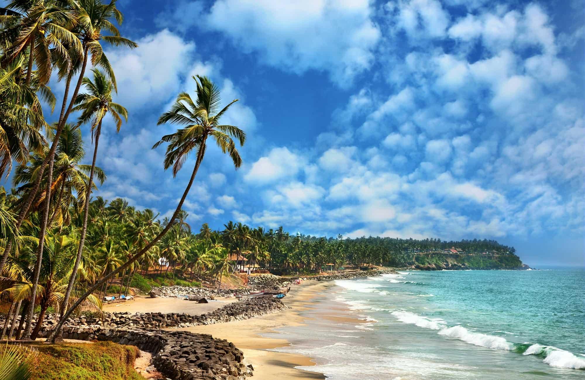Voyage au Kerala - Varkala - Amplitudes