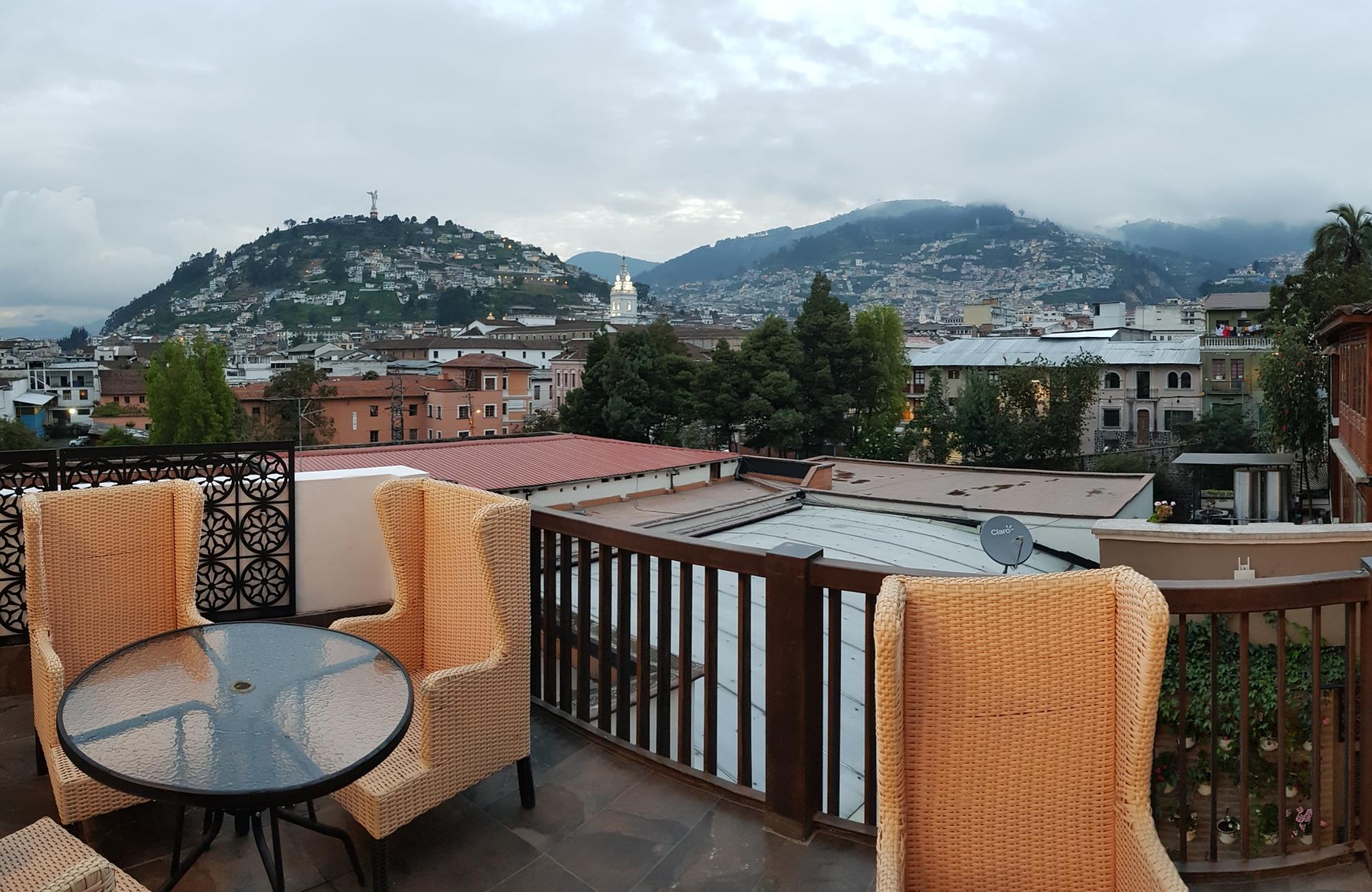 Une belle arrivée à Quito