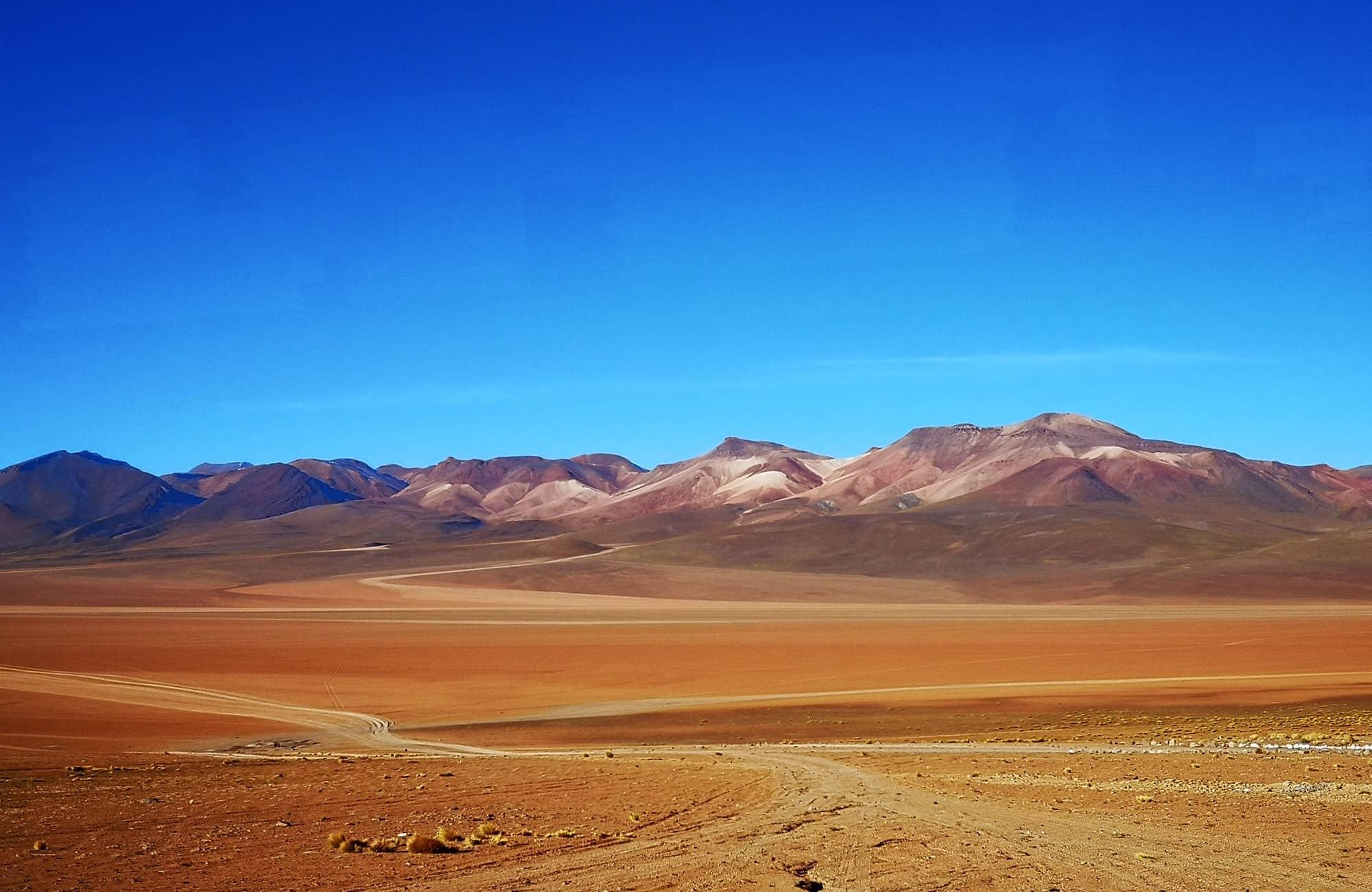 Voyage en Bolivie - Pistes du Sud Lipez - Amplitudes