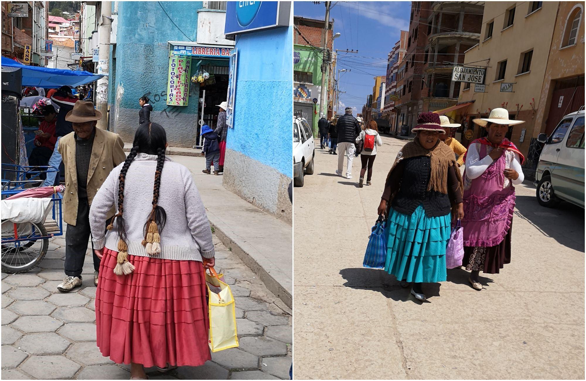 Le retour de marché des Cholitas