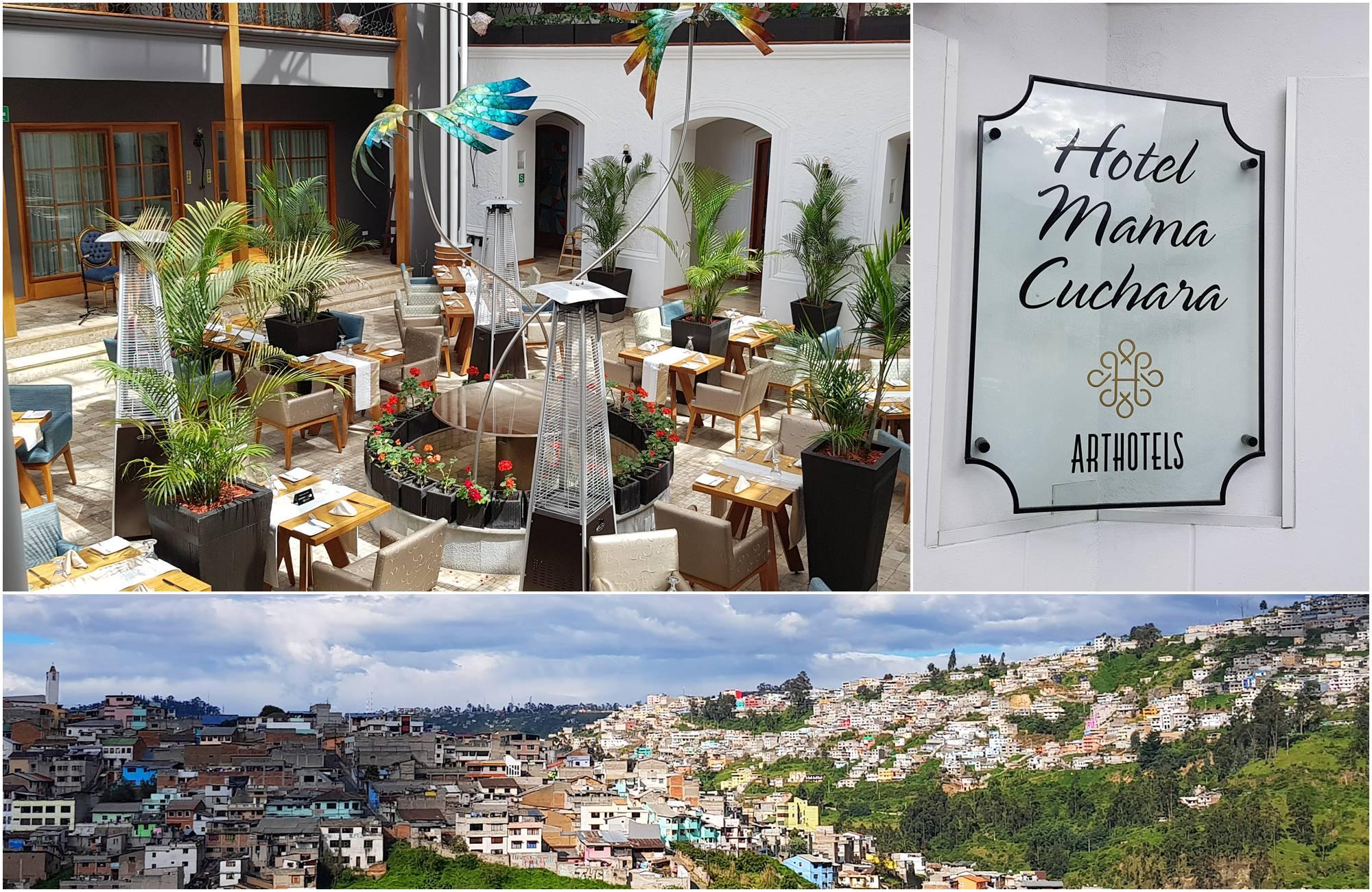Un bel hôtel au cœur de Quito