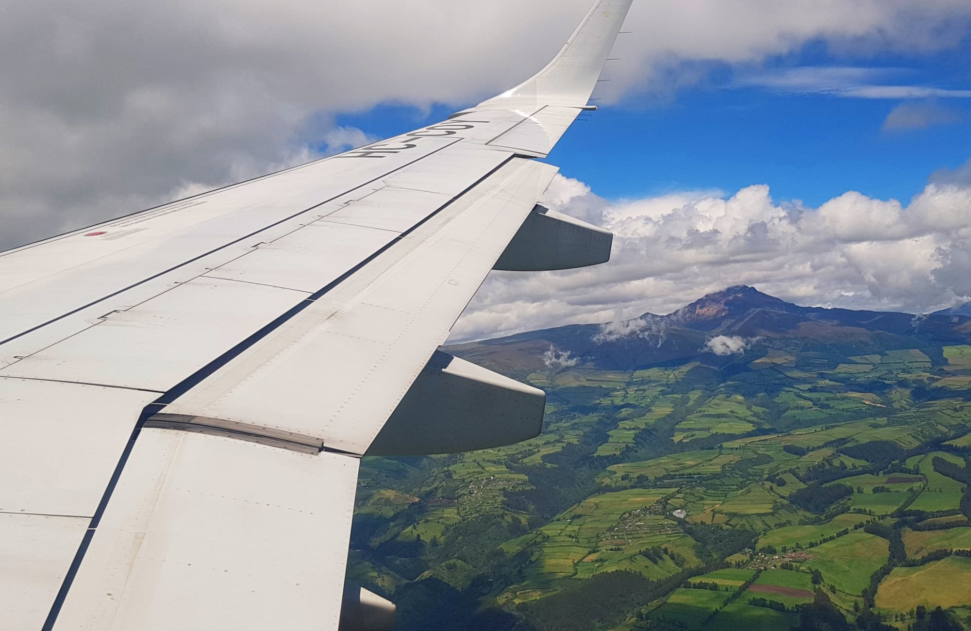 L'Équateur depuis le ciel