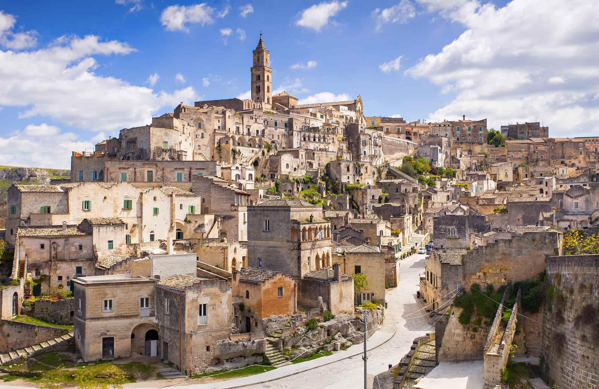Voyage en Italie - Matera - Amplitudes