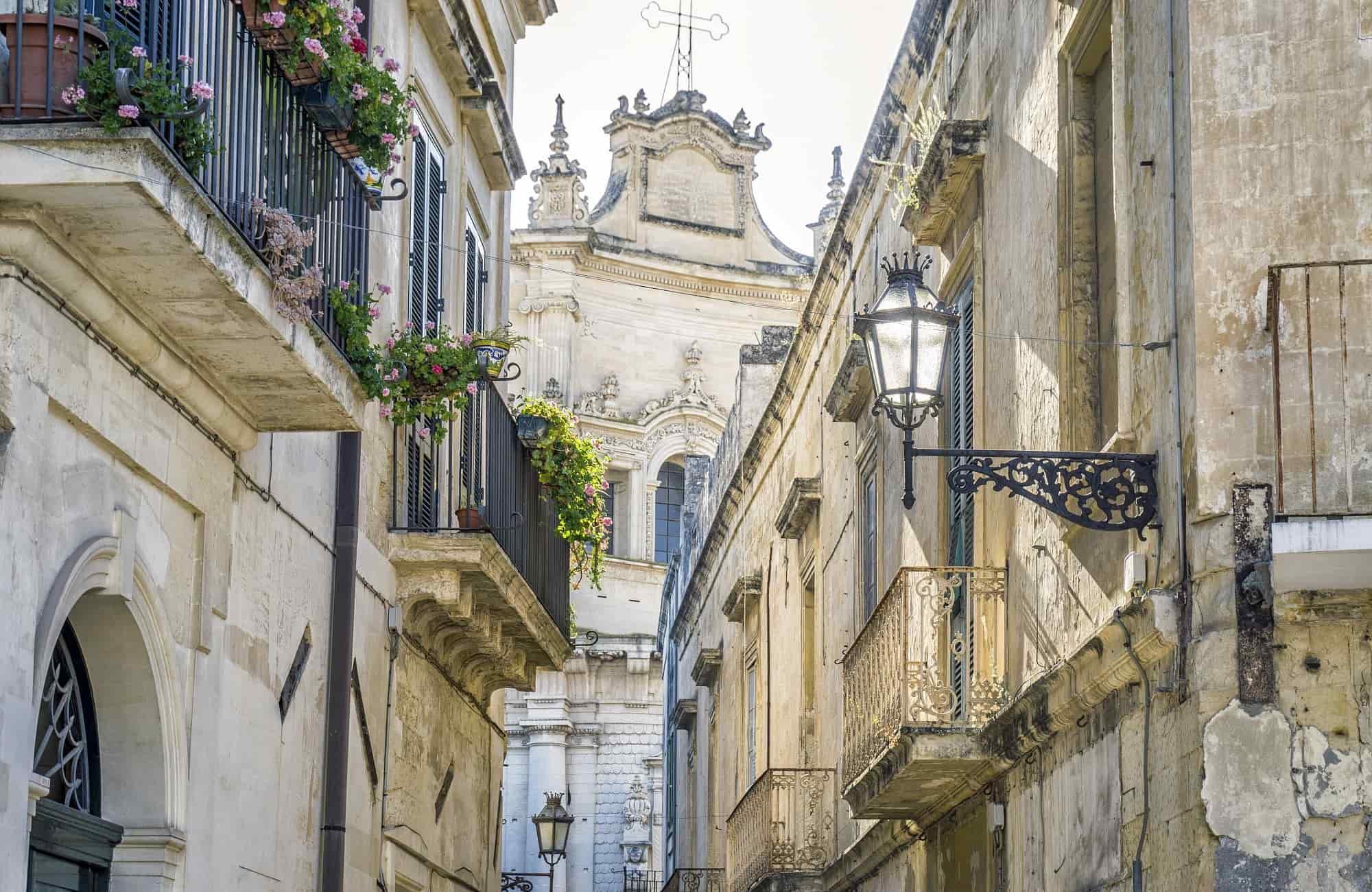 Voyage en Italie - Lecce - Amplitudes