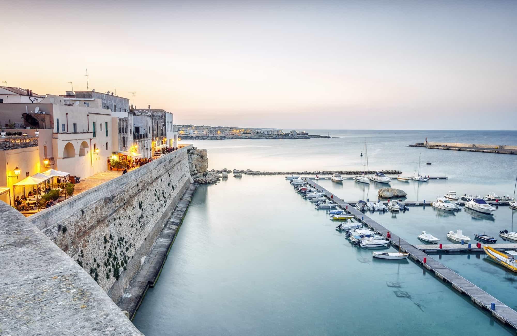 Voyage en Italie - Otrante - Amplitudes