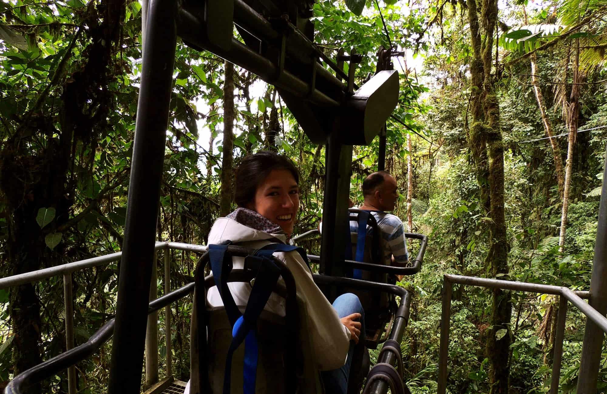 Voyage en Equateur - Vélo canopée - Amplitudes
