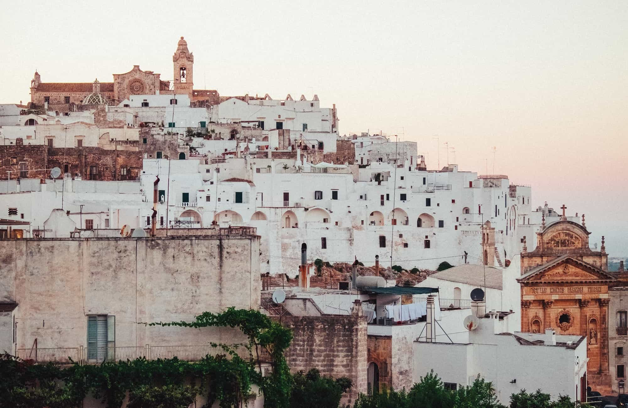Voyage en Italie - Ostuni - Amplitudes