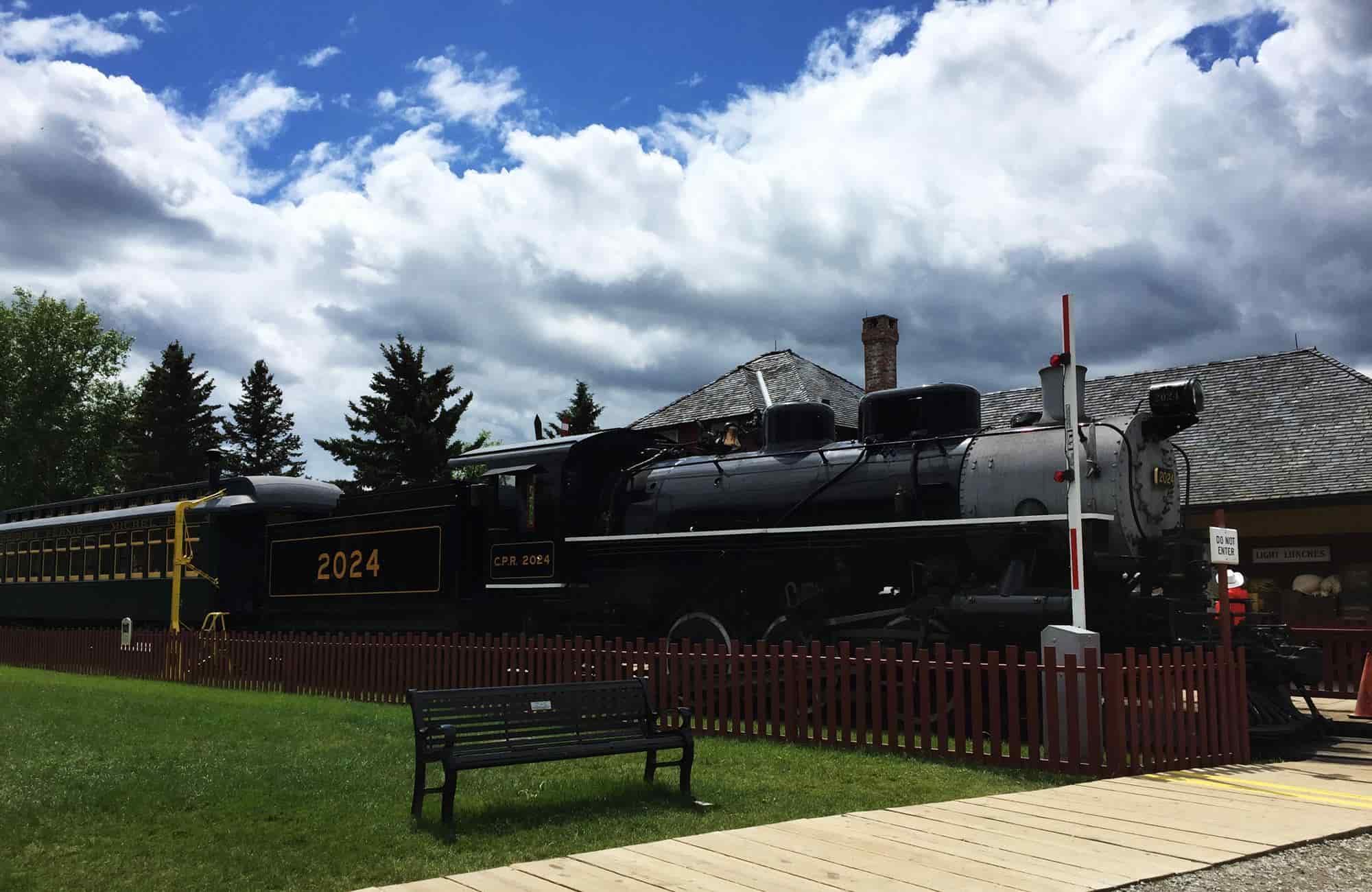 Voyage au Canada - Heritage Park Calgary - Amplitudes