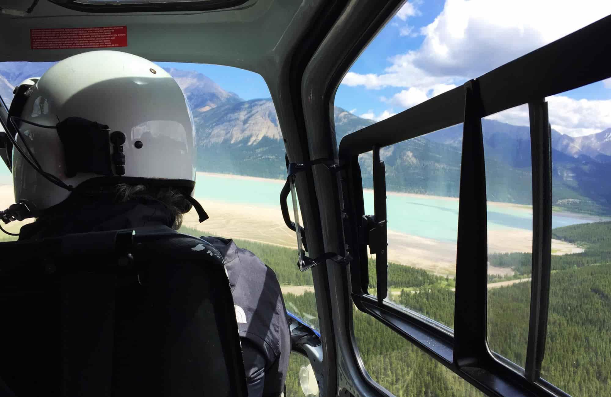 Voyage au Canada - Survol des Rocheuses en hélicoptère - Amplitudes