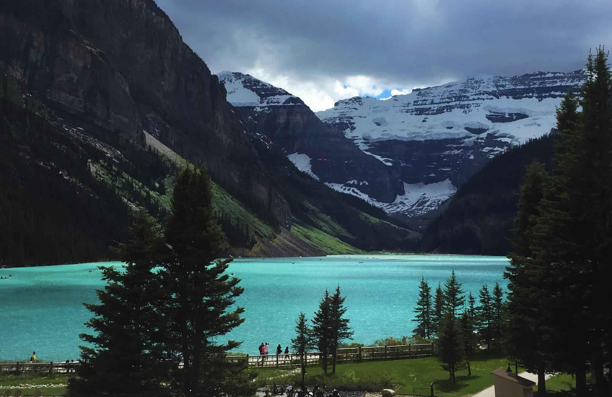 Voyage au Canada - Lac Louise - Amplitudes