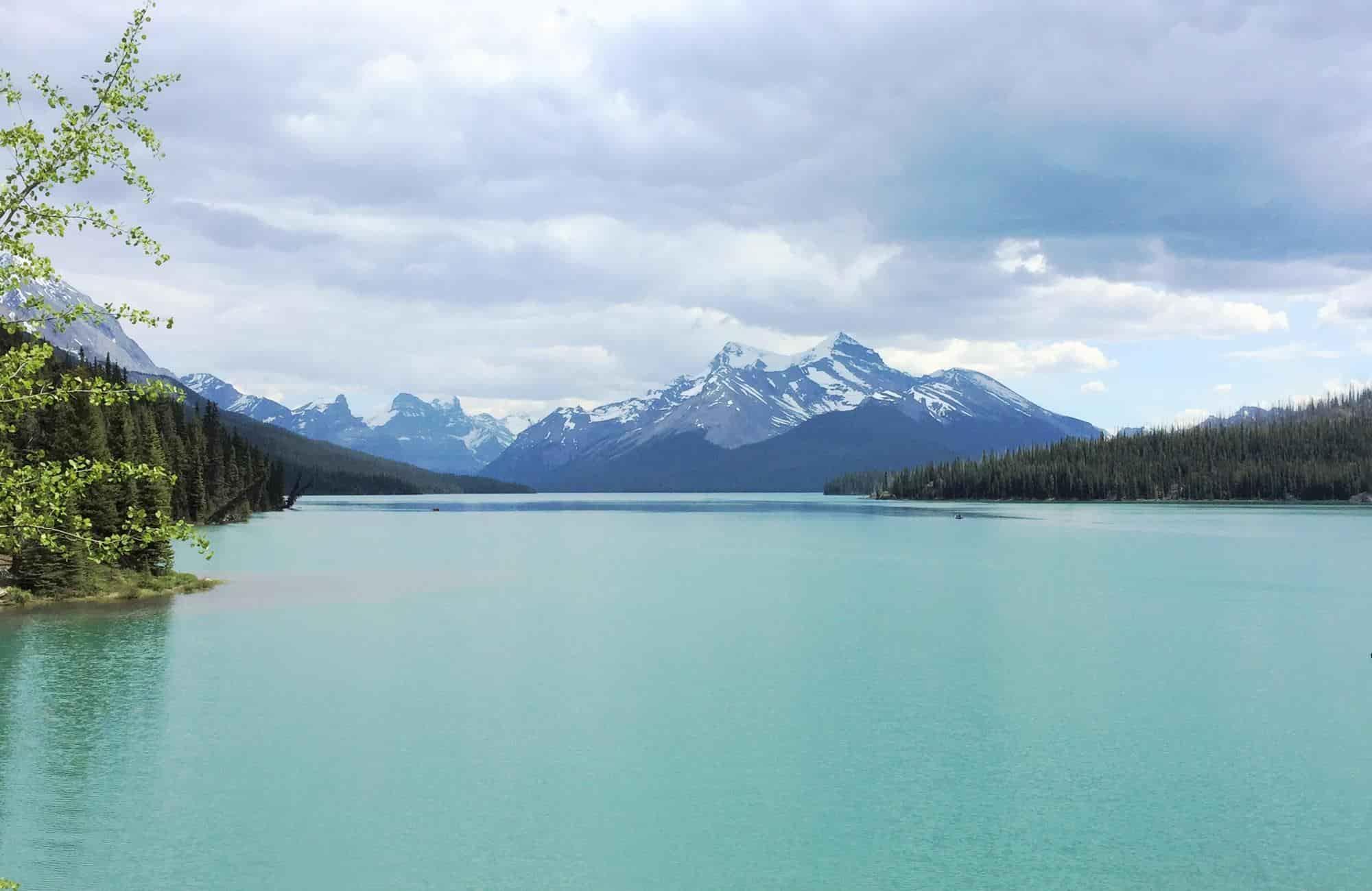 Voyage au Canada - Lac maligne - Amplitudes