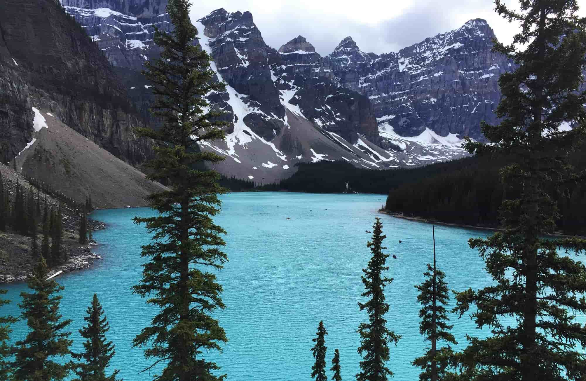Voyage au Canada - Lac Moraine - Amplitudes