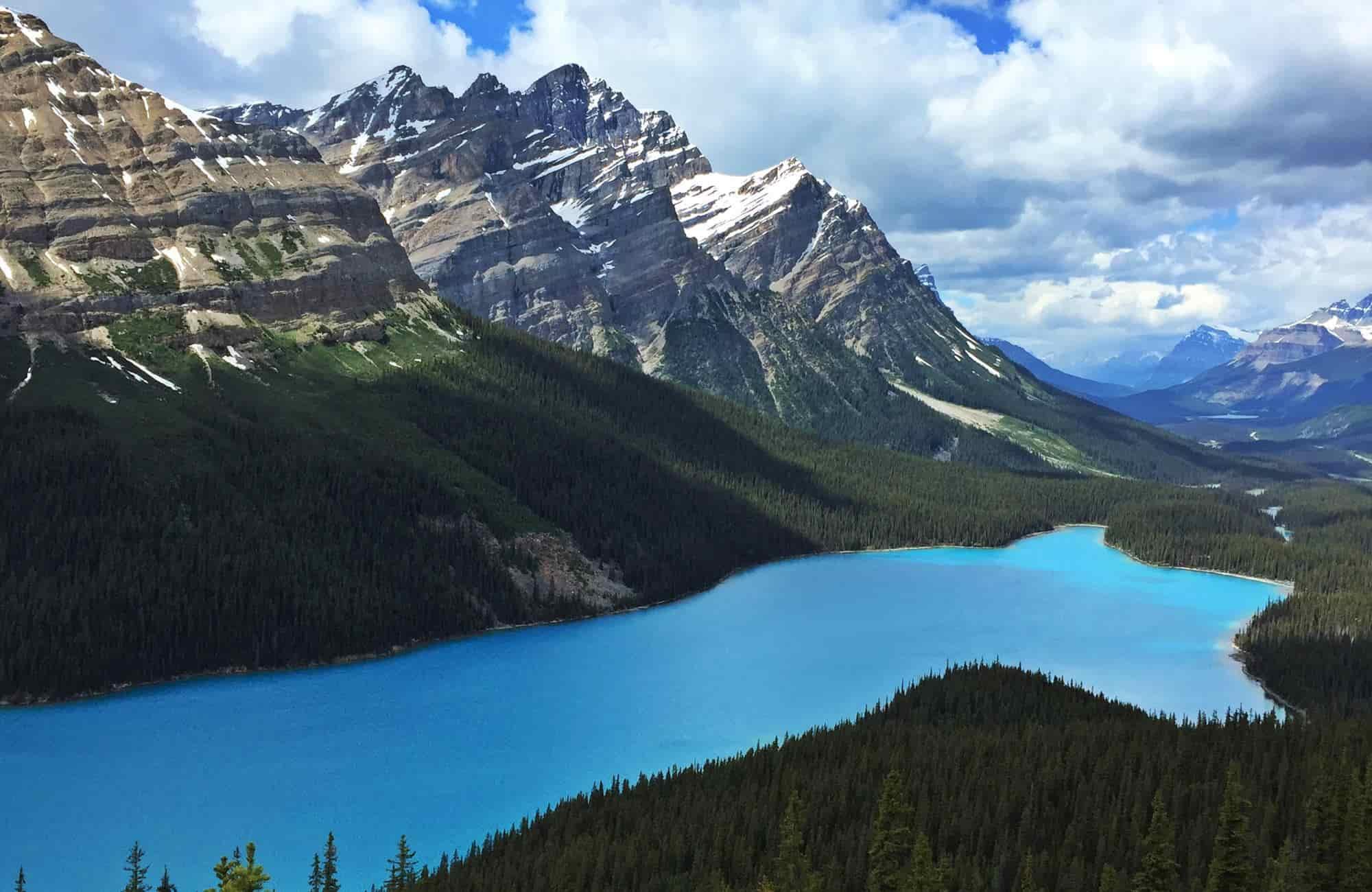 Voyage au Canada - Lac Peyto - Amplitudes