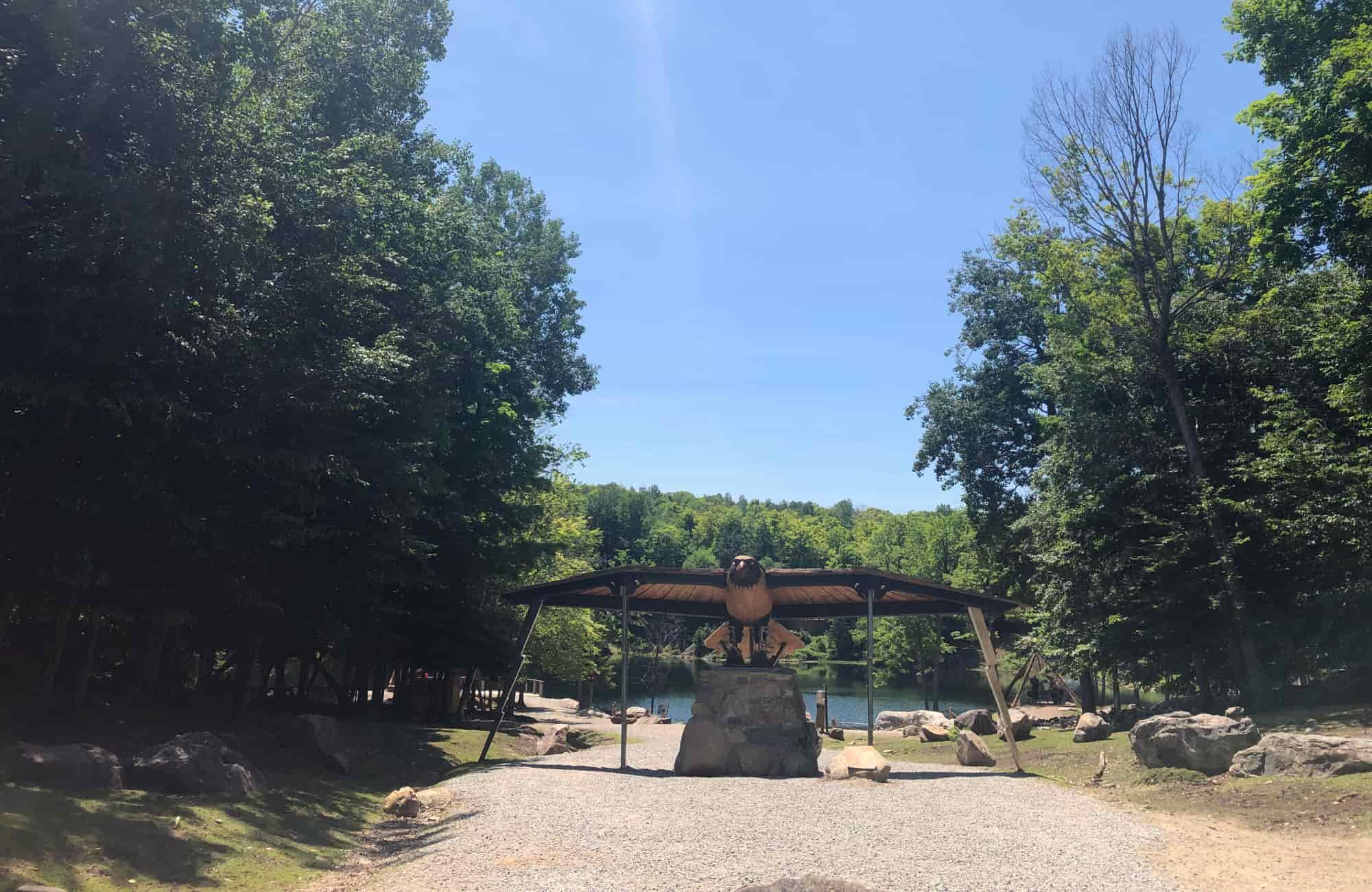 Voyage Québec - Totems Parc Oméga - Amplitudes