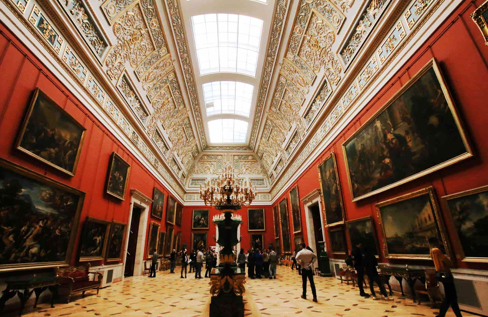Voyage en Russie - Musée de l'Ermitage - Amplitudes