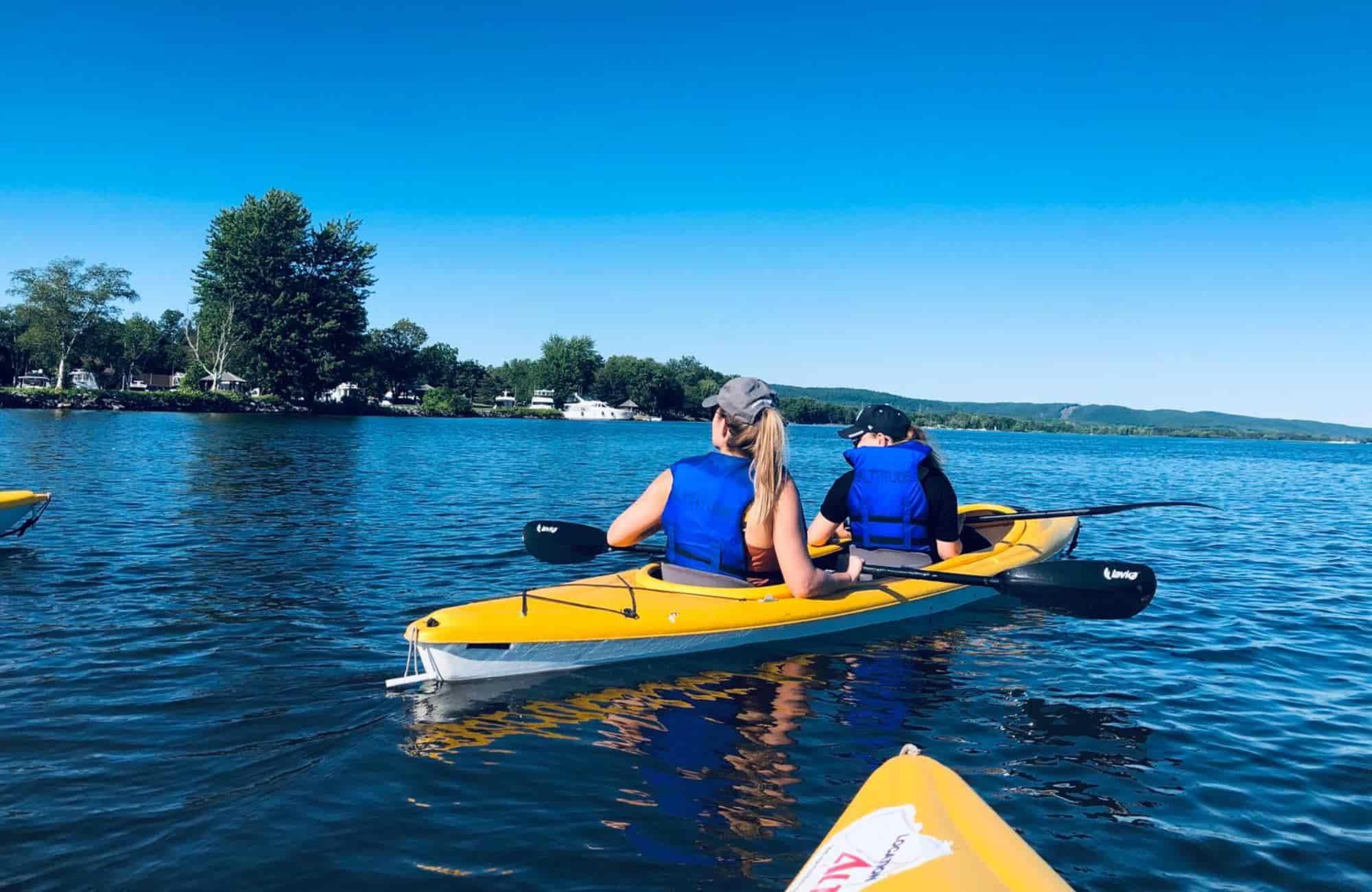 Voyage Québec - Balade en Kayak - Amplitudes
