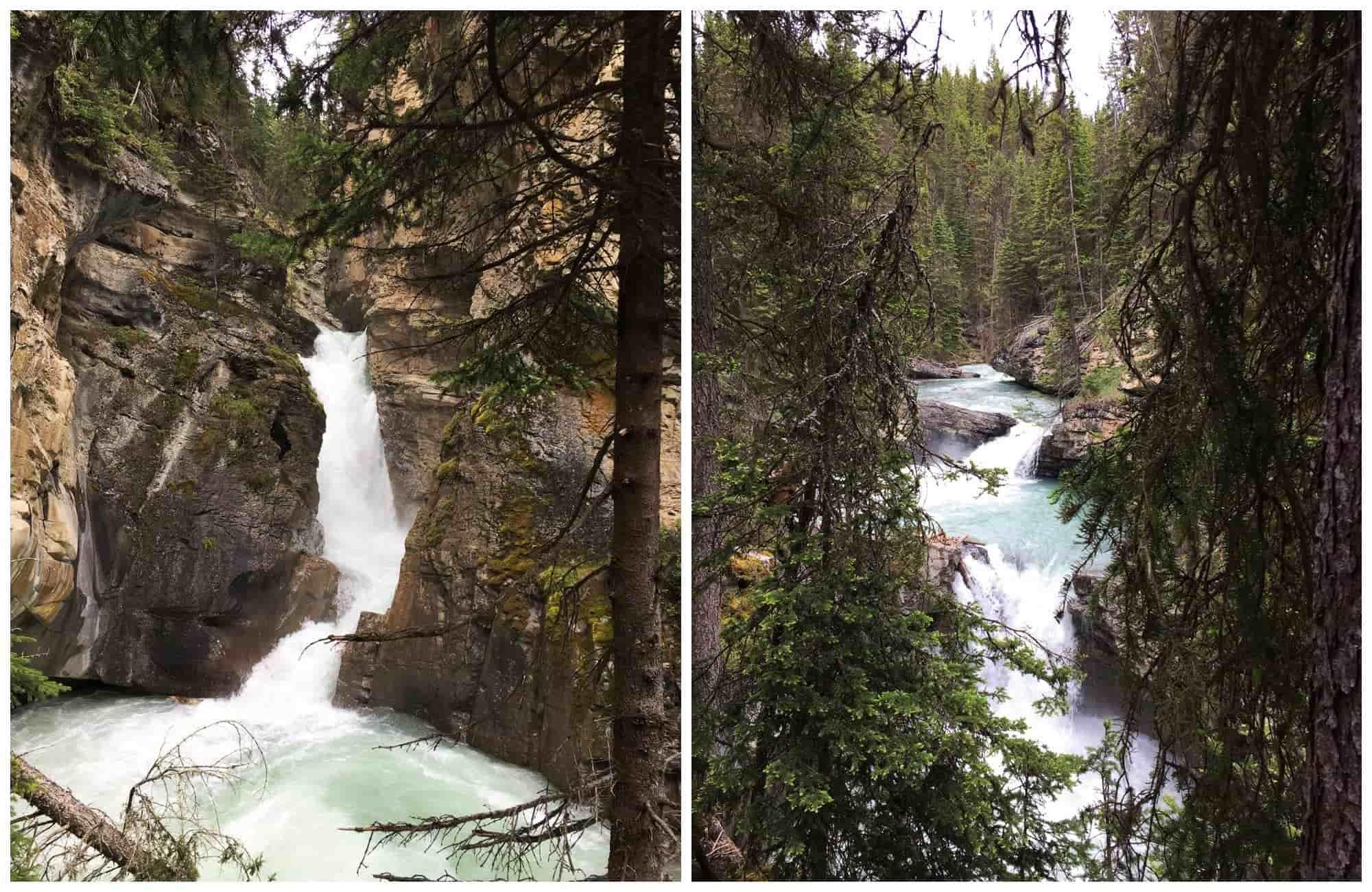 Voyage au Canada - Jonhston Canyon - Amplitudes