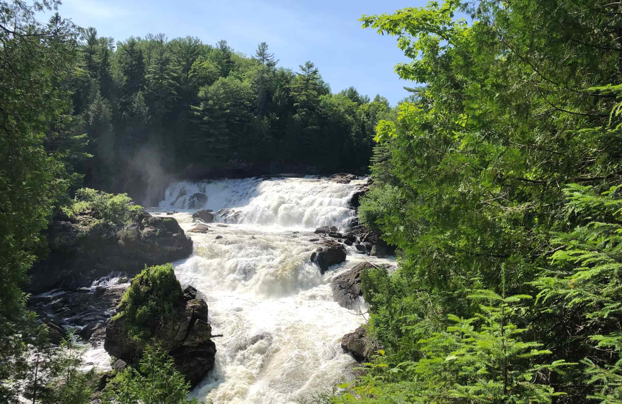 Voyage Québec - chutes de Plaisance - Amplitudes