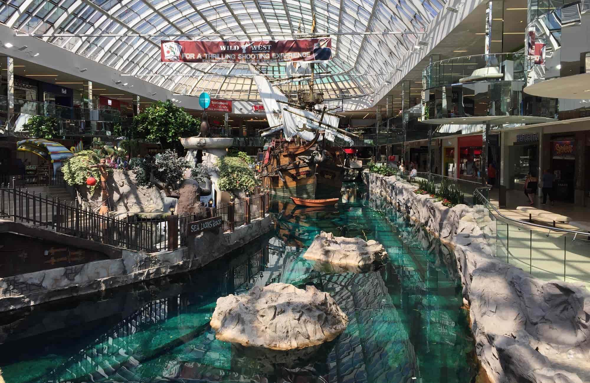Voyage au Canada - west edmonton wall - Amplitudes