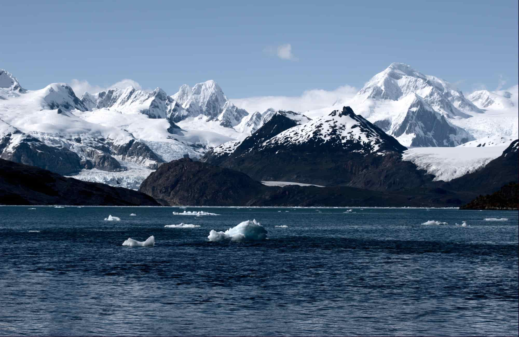 Voyage Cap Horn - Baie Ainsworth Glacier Marinelli - Amplitudes