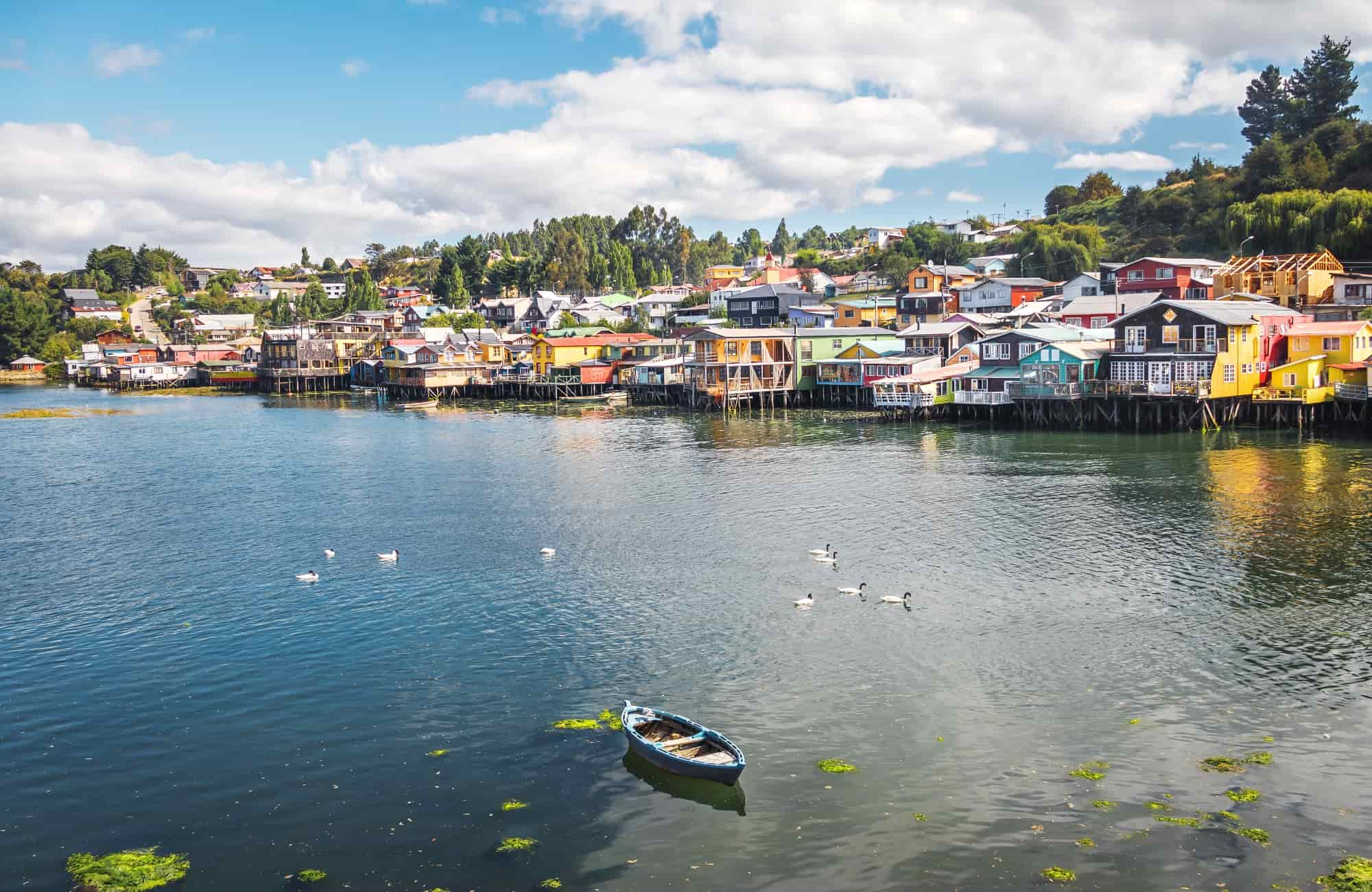 Voyage Ile de Chiloé - Maisons sur pilotis Castro - Amplitudes