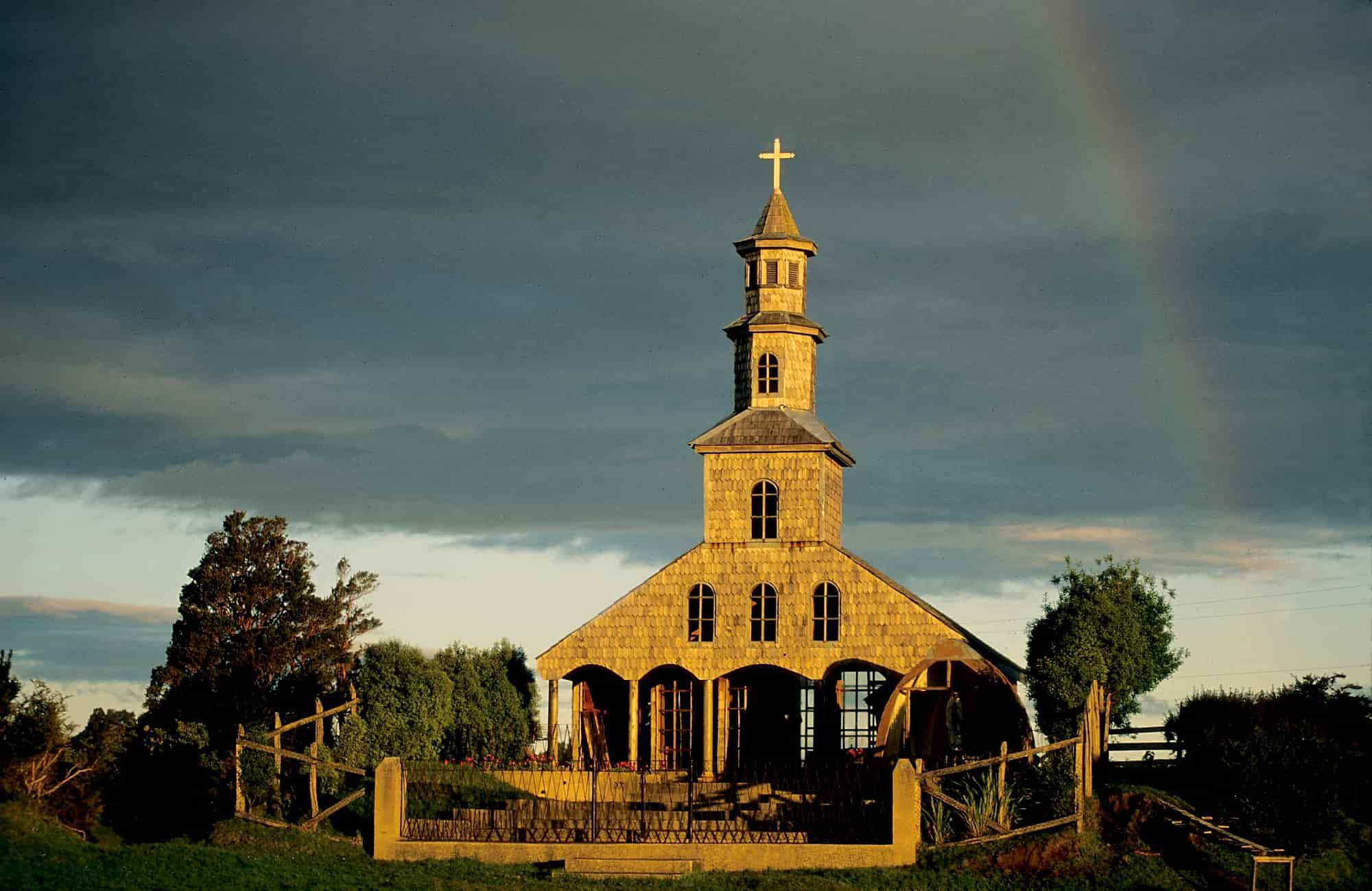 Voyage Chiloé - Eglise chilote - Amplitudes