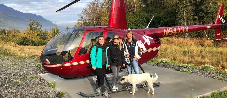 Voyage Alaska - Excursion hélicoptère - Amplitudes