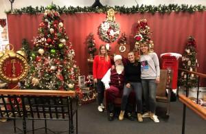 Photo avec le Père Noël à North Pole