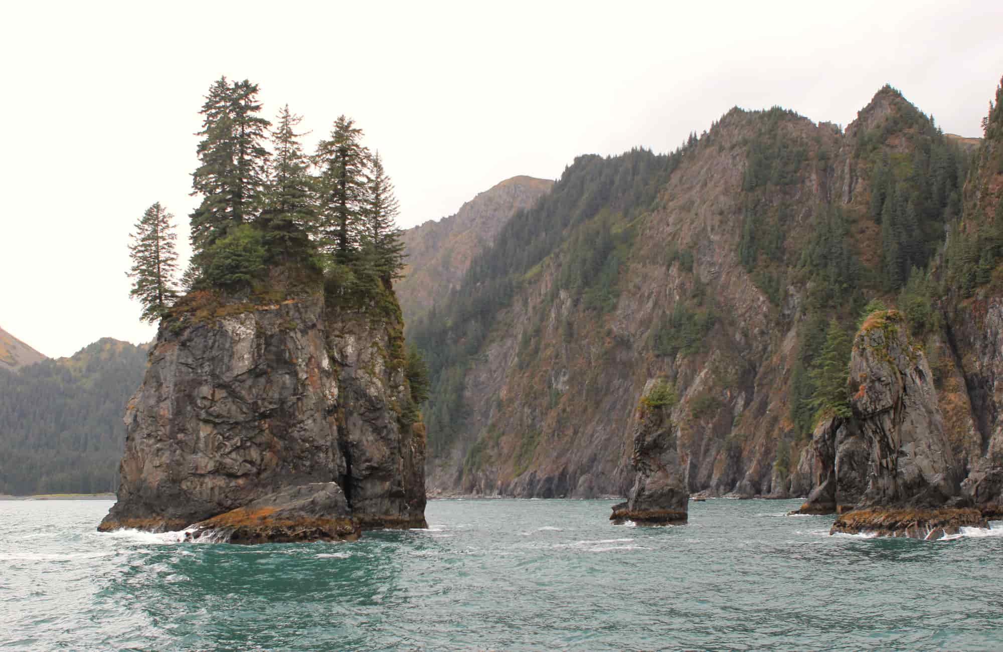 Voyage Alaska - La baie qui longe la route - Amplitudes