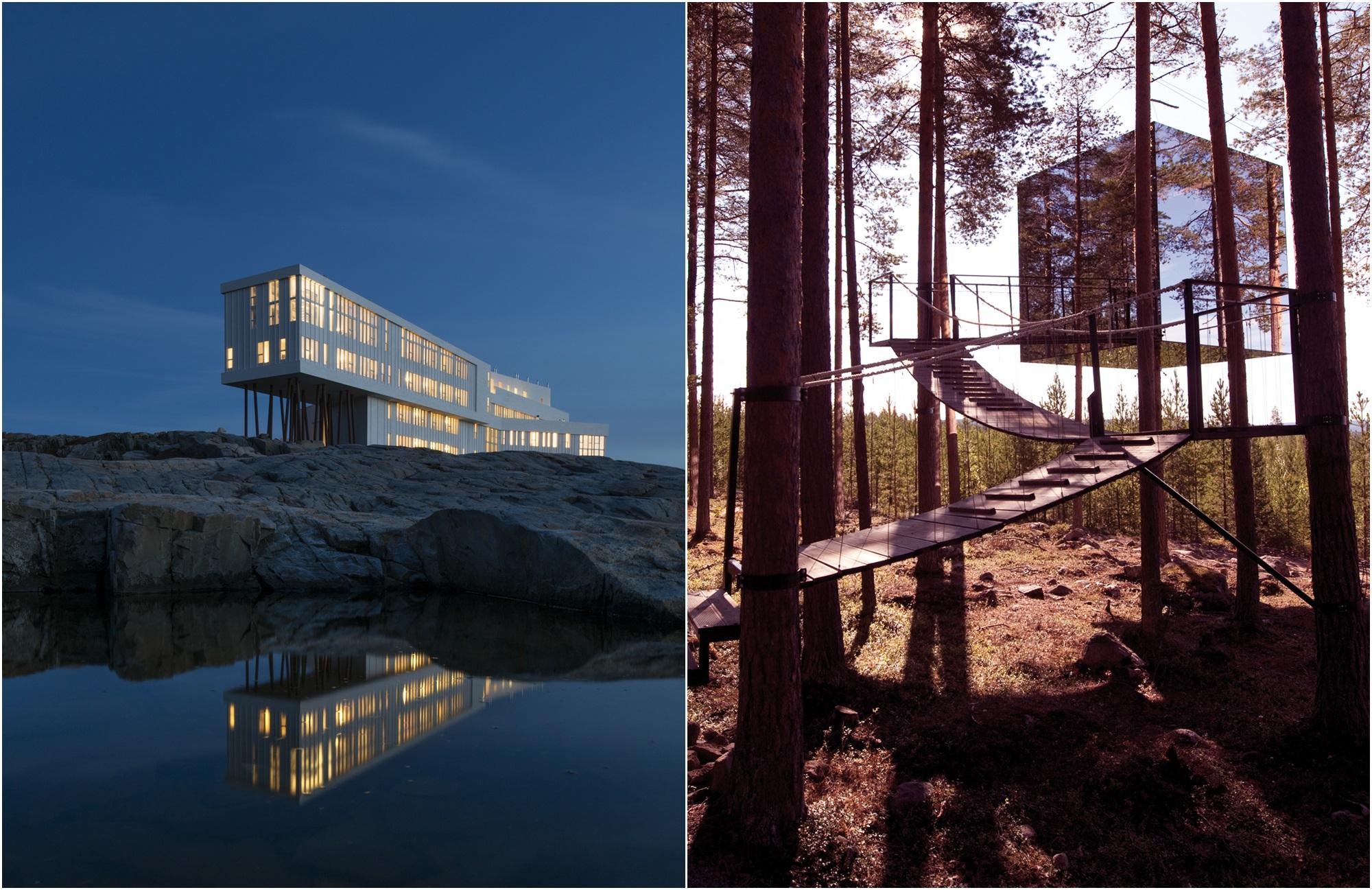 Voyage Canada - Laponie - Fogo Island Inn et TreeHotel - Amplitudes