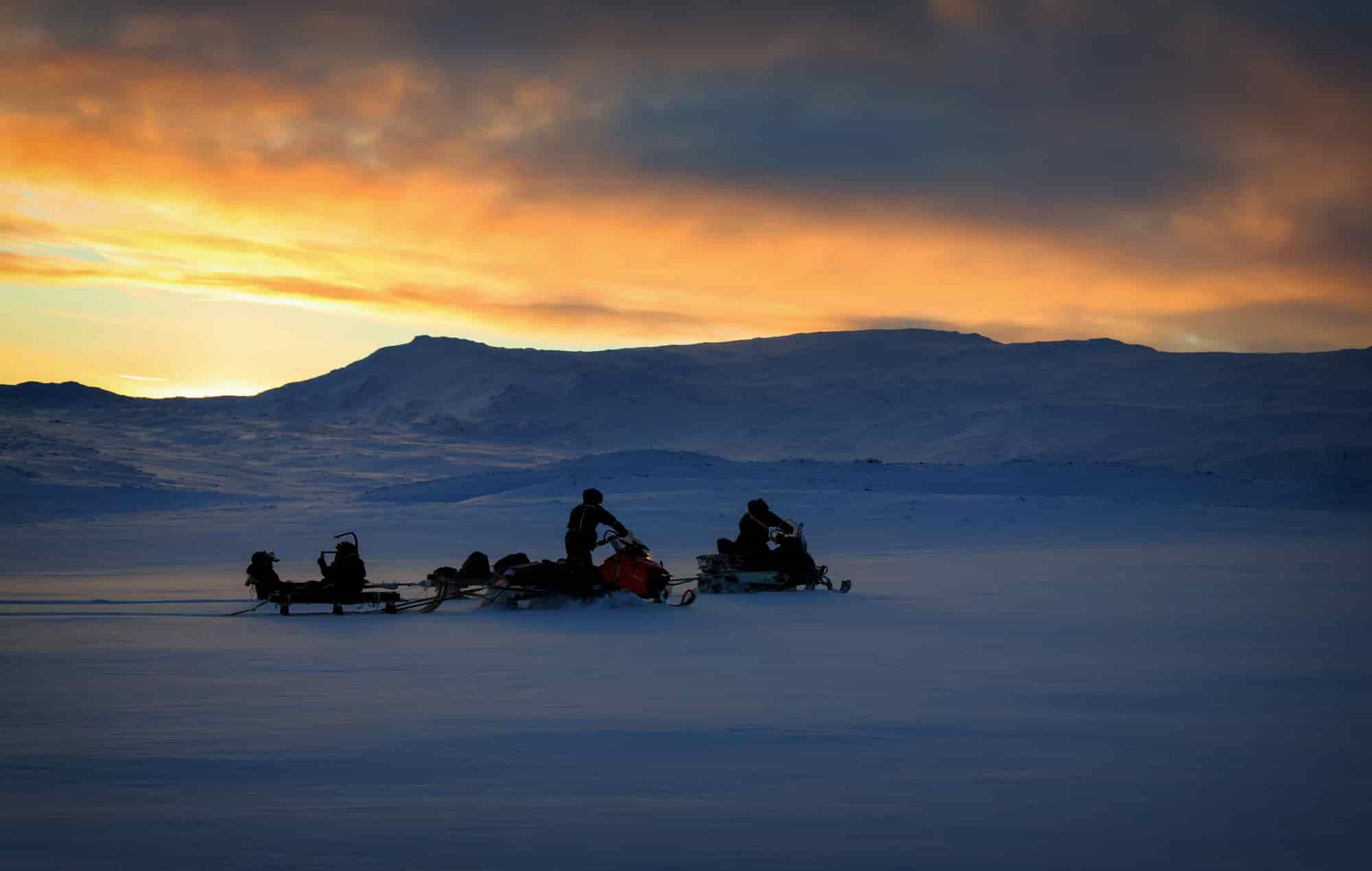 Voyage Laponie - Safari en motoneige - Amplitudes
