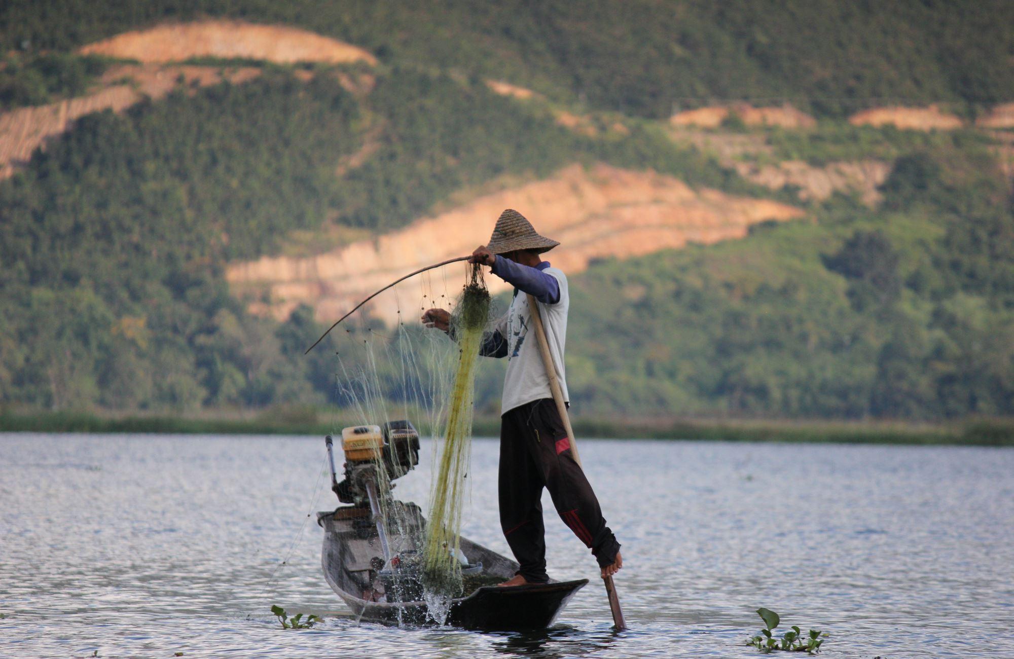 Voyage Birmanie - Pêche sur le lac Inle - Amplitudes