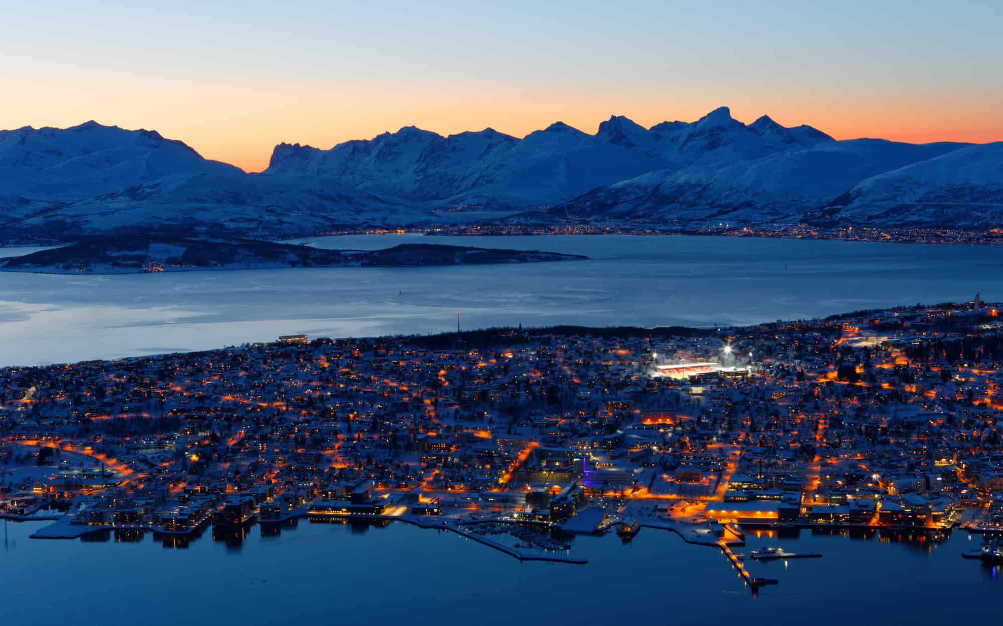 Voyage Norvège - Tromsø - Amplitudes