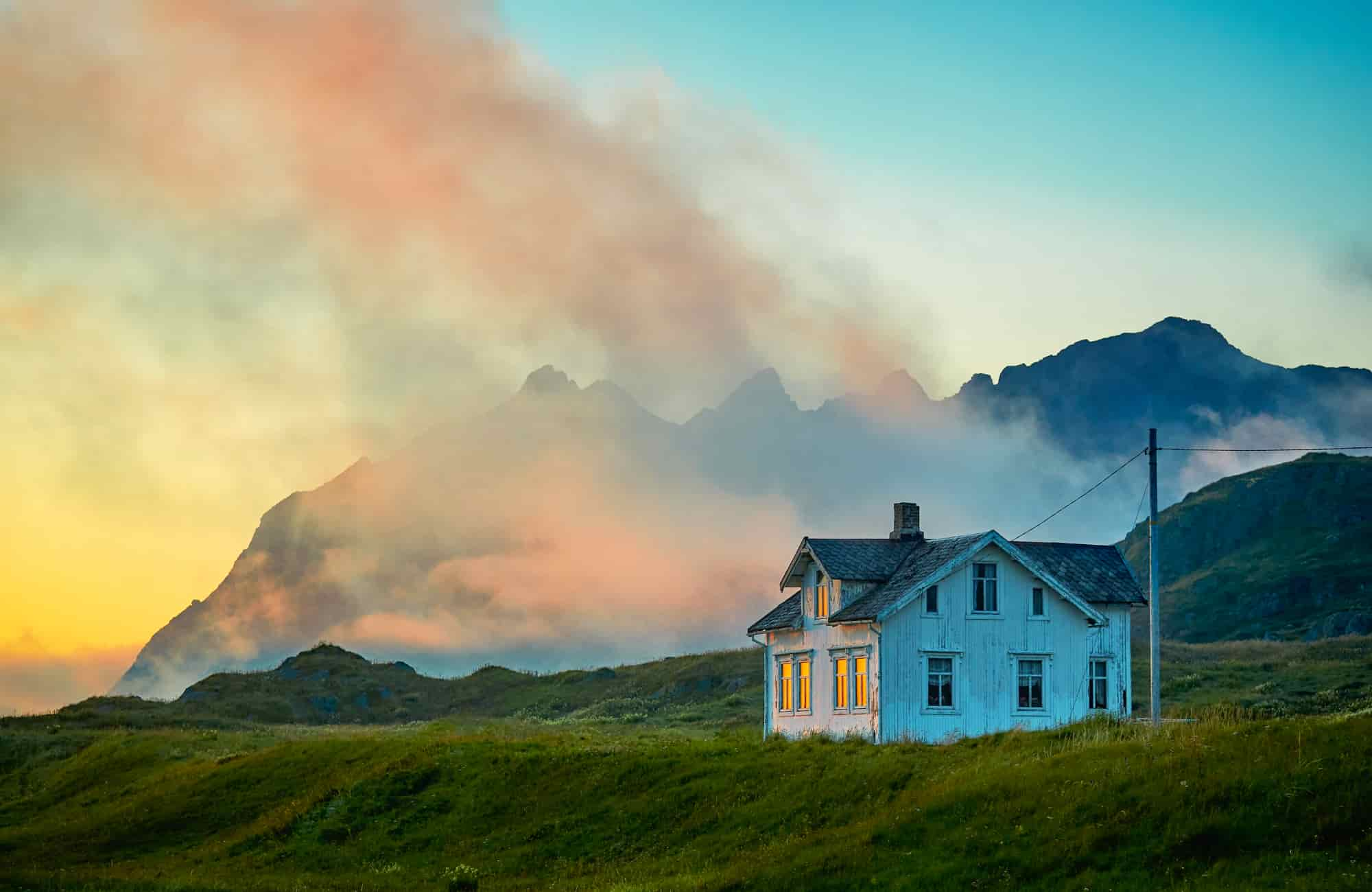 Voyage Norvège - Maison isolée Hodven - Amplitudes