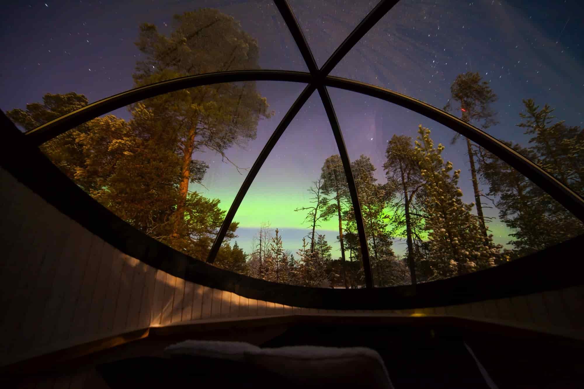 Voyage Finlande - Aurora Bubble - Amplitudes