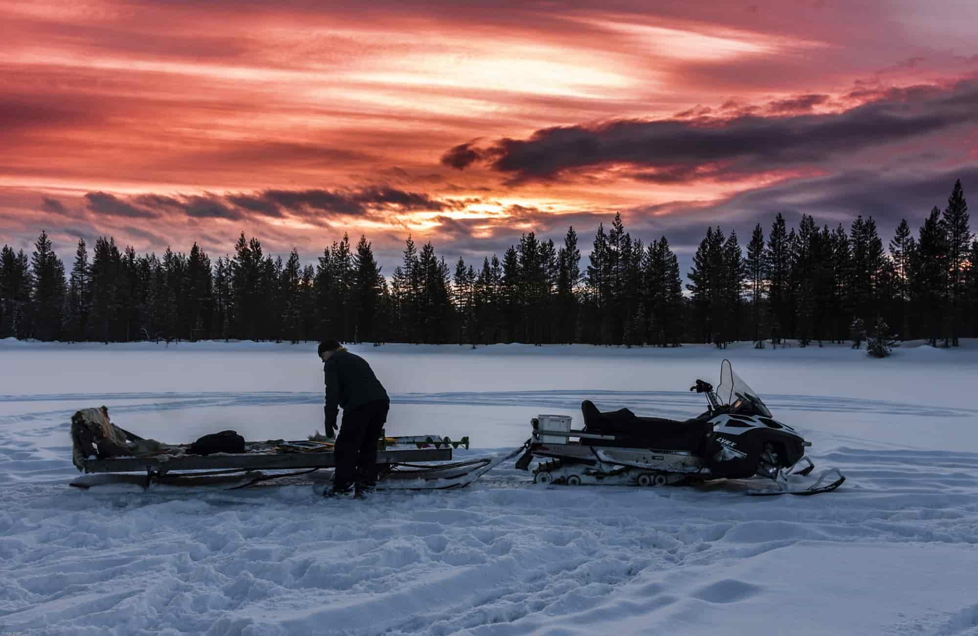 Voyage Laponie - Motoneige - Amplitudes