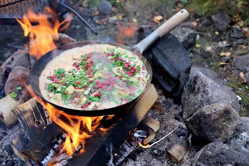 Voyage Suède - Cuisine Sami - Amplitudes