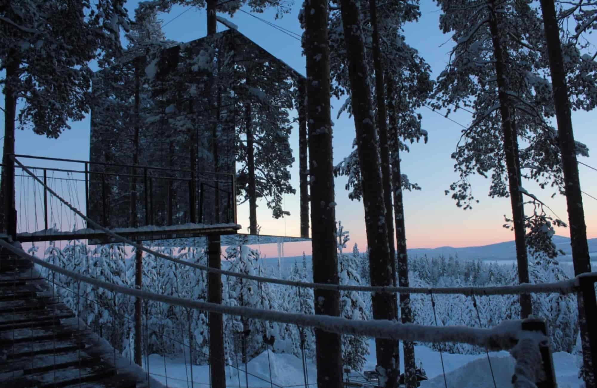 Voyage Suède - TreeHotel - Amplitudes