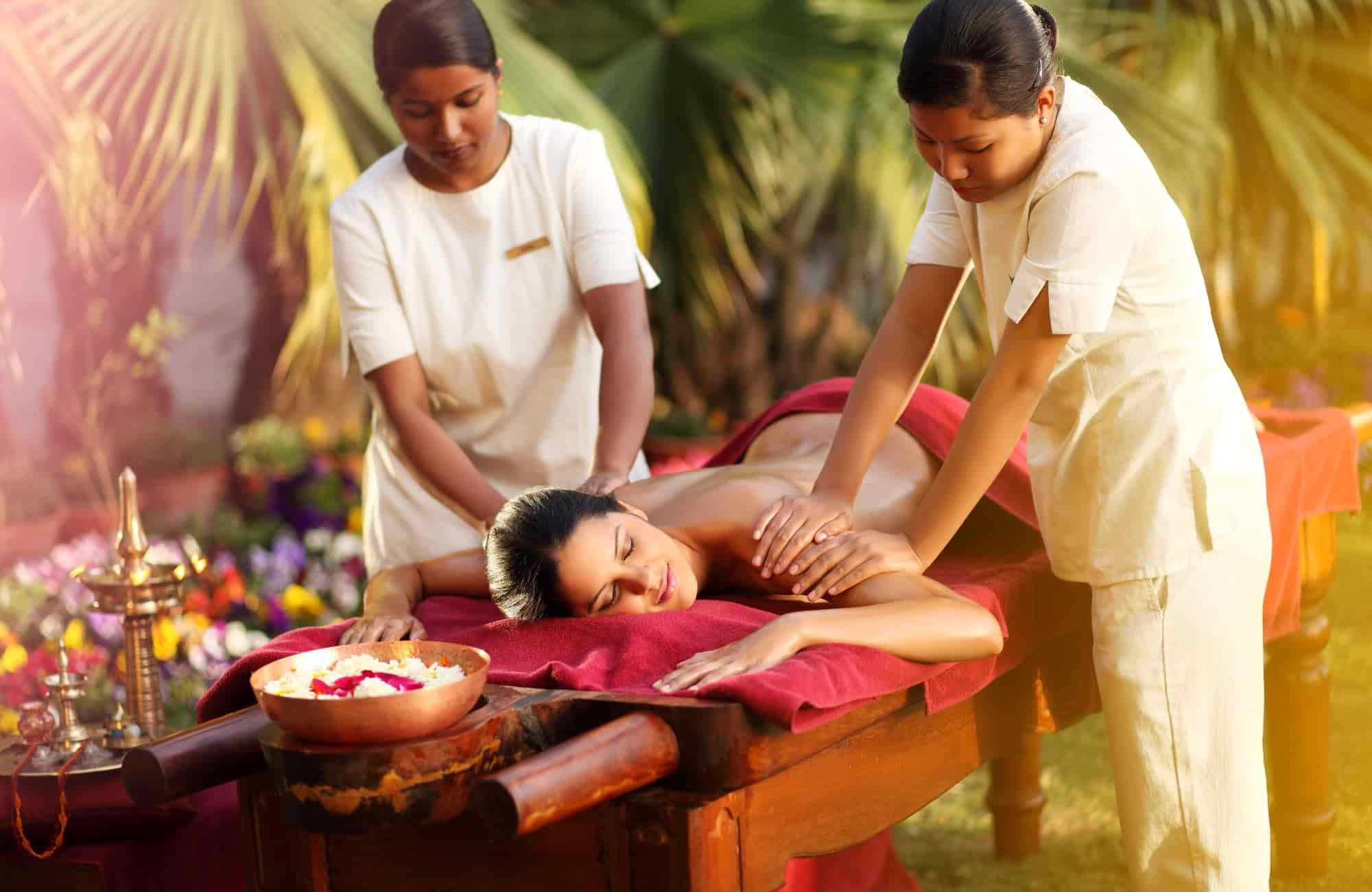 Voyage Inde - Cure Ayurvédique Massage - Amplitudes