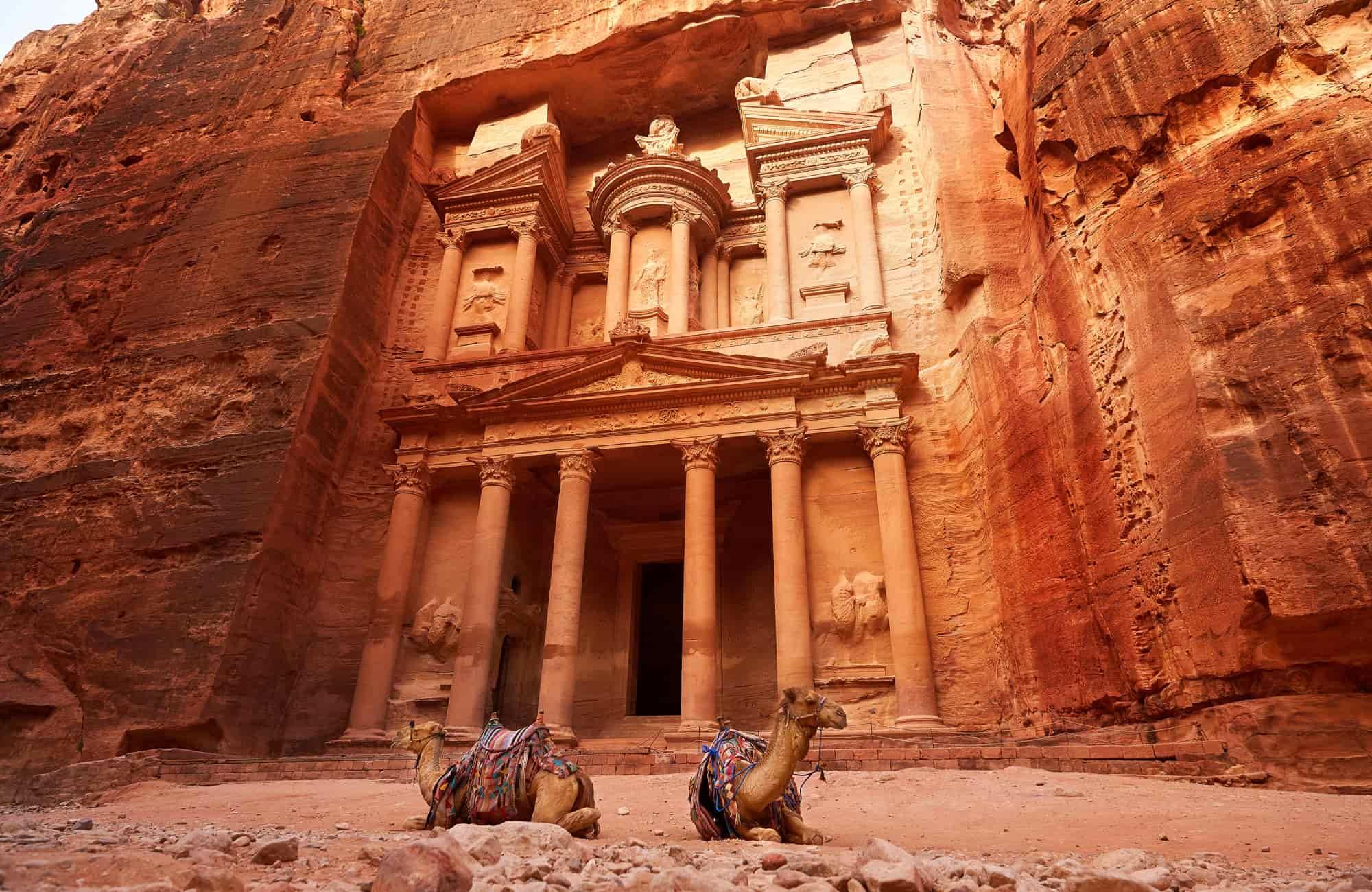 Voyage Jordanie - Petra Khazneh - Amplitudes