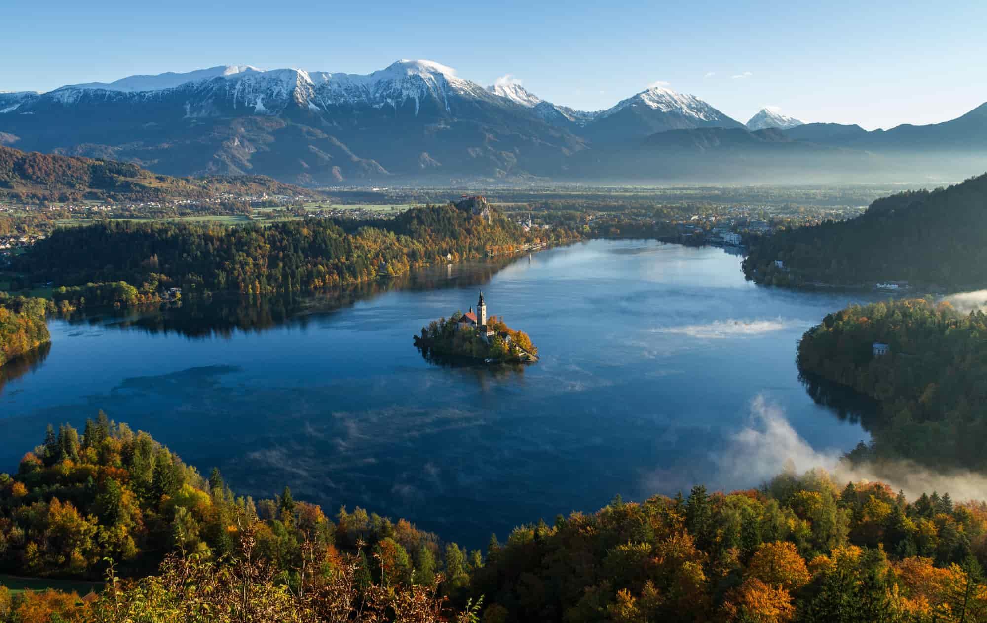 Voyage Slovénie - Le lac alpin de Bled - Amplitudes