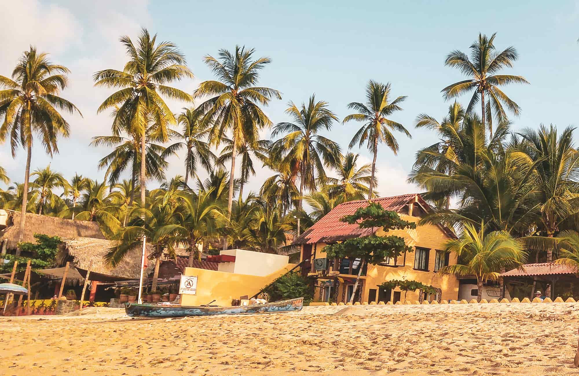 Voyage Mexique - Plage de Sayulita - Amplitudes