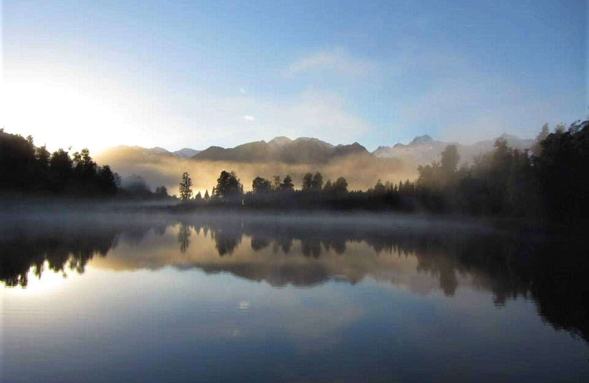 Lake Matheson - Nouvelle-Zélande - Crédit photo : Marianne