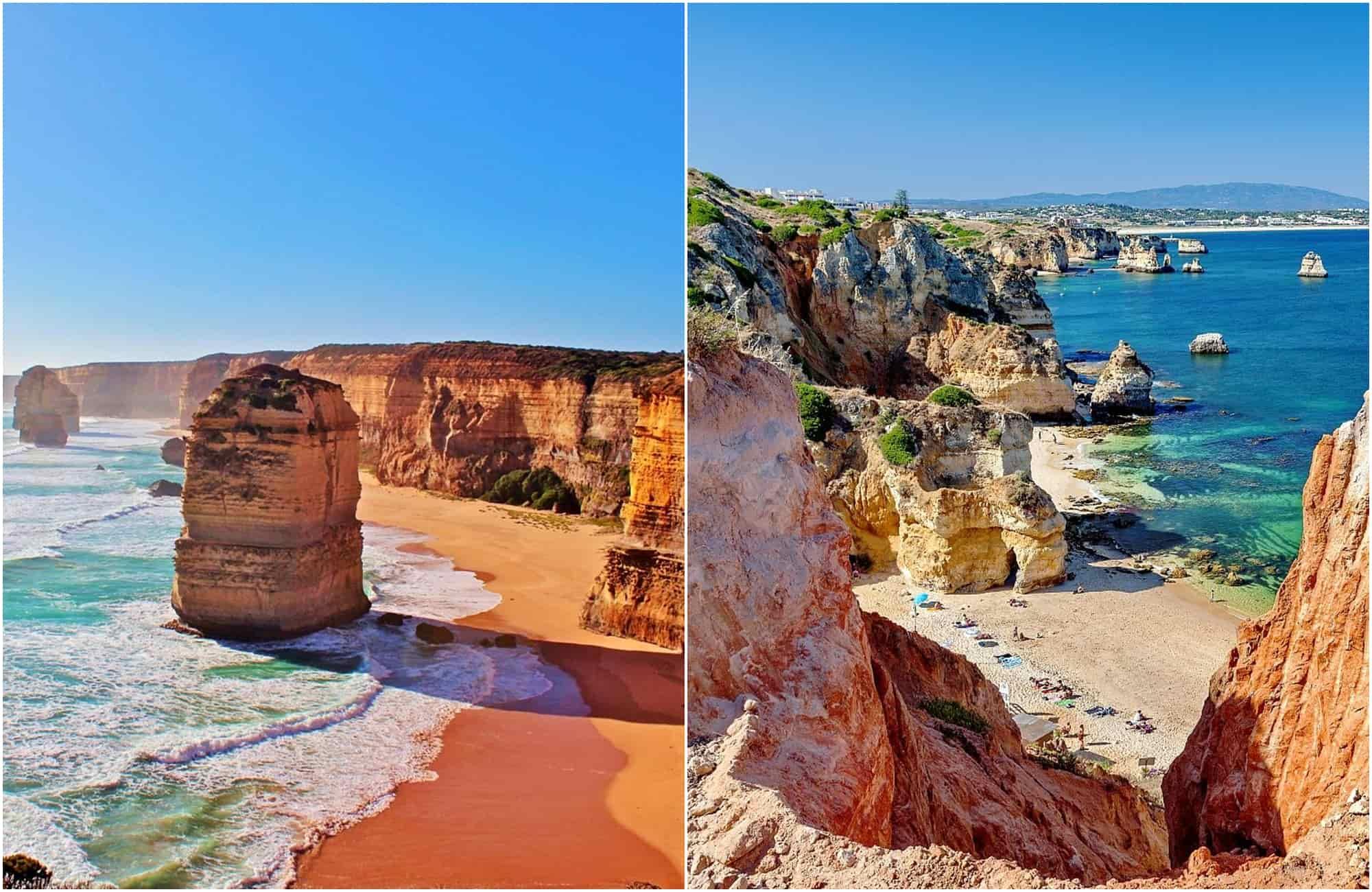 Voyage Portugal - Australie - Amplitudes
