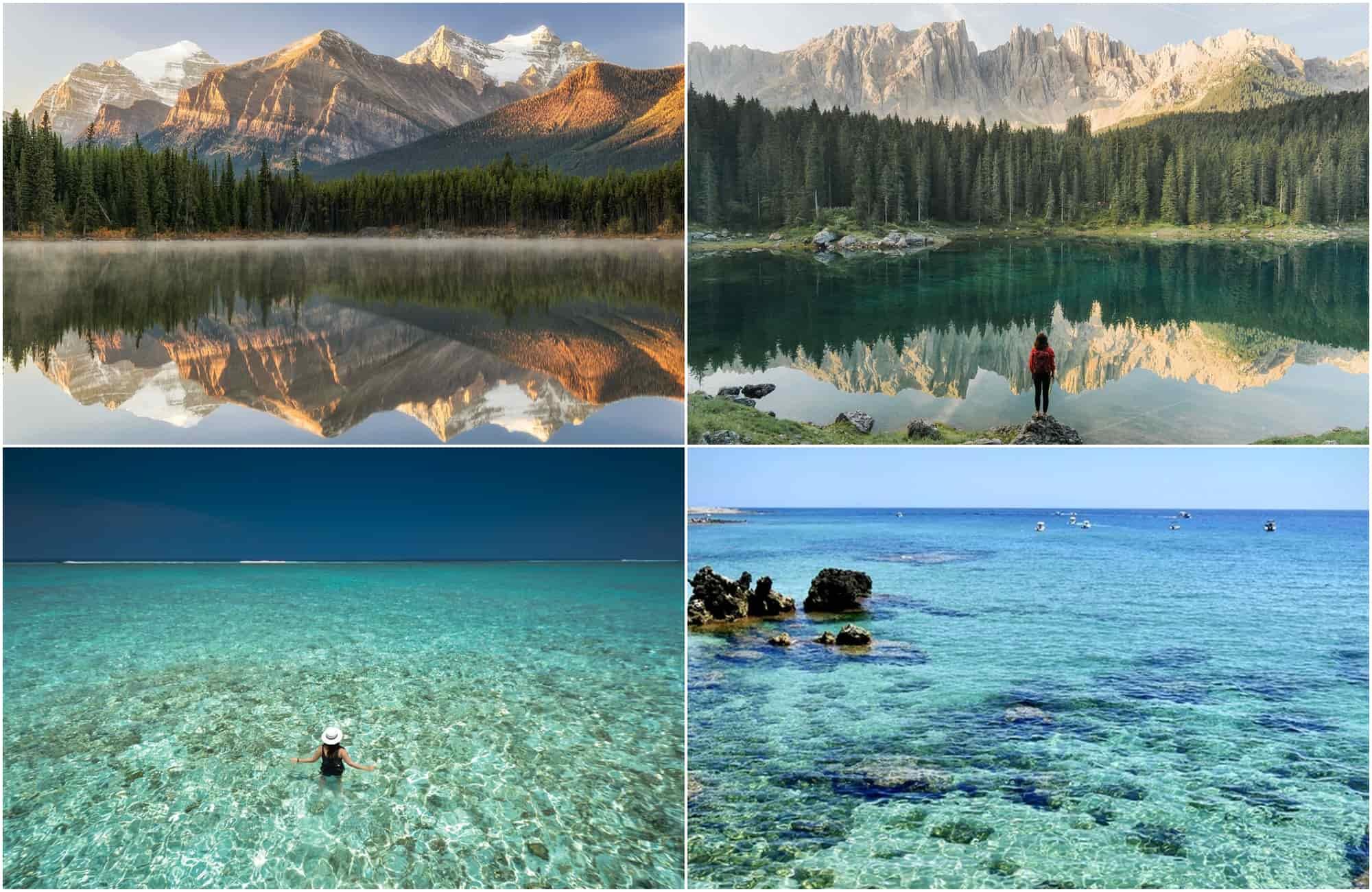 Voyage Italie - Canada - Maldives - Amplitudes