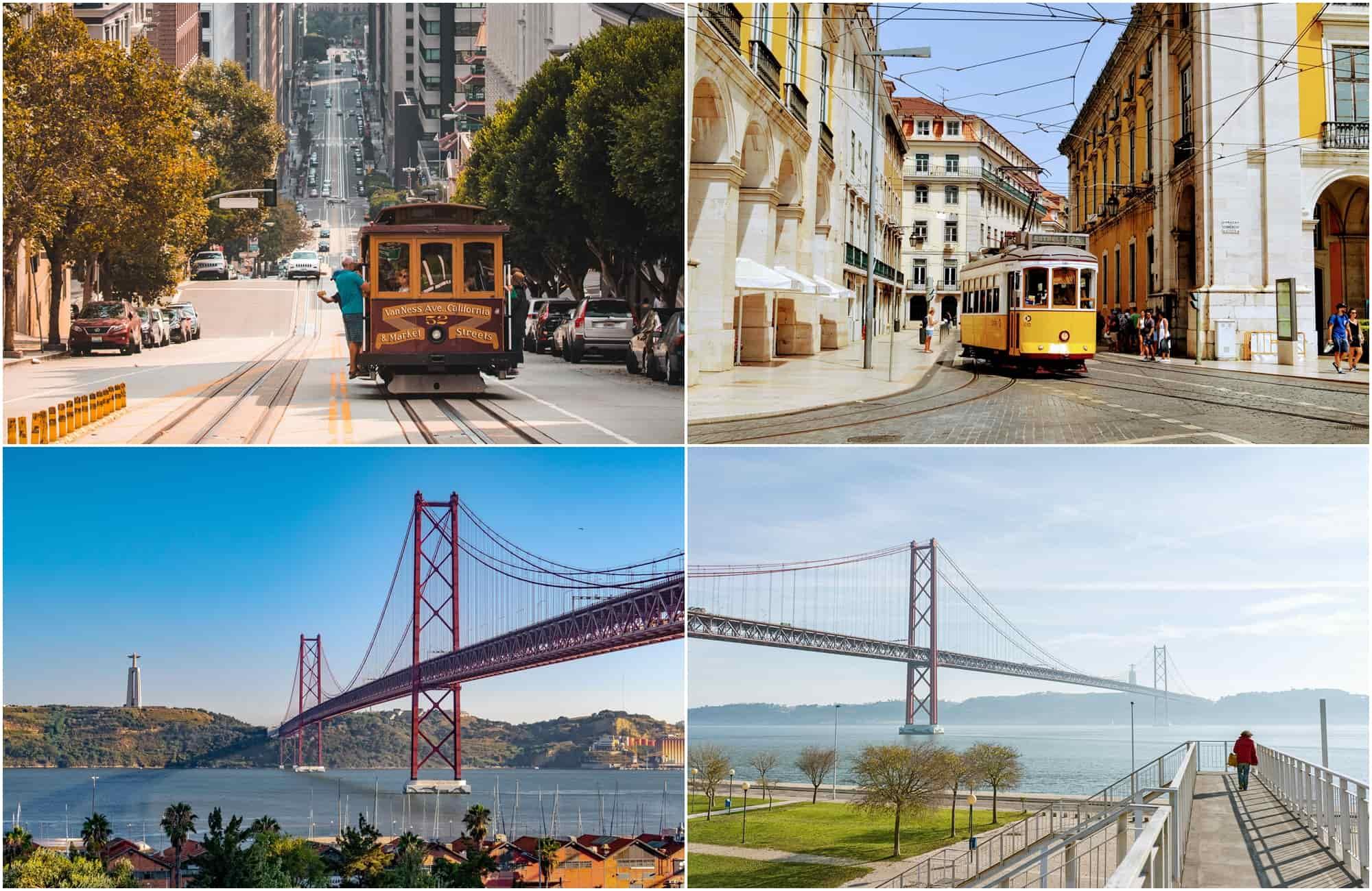 Voyage Portugal - San Francisco - Amplitudes