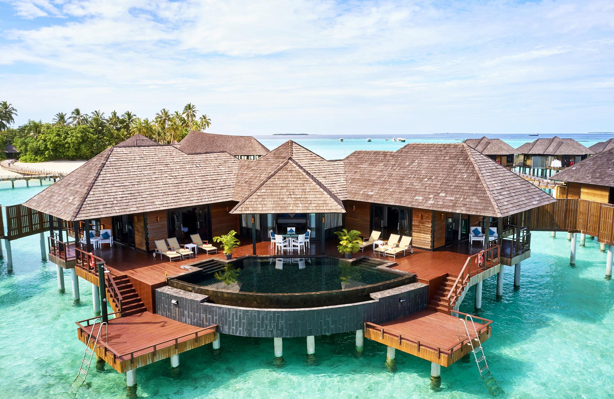 Séjour Maldives - Piscine Sun Siyam Iru Fushi - Amplitudes