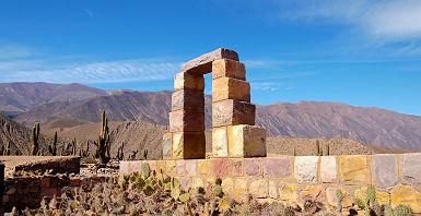 """Argentine - Site archéologique de 'Pucara de Tilcara"""""""